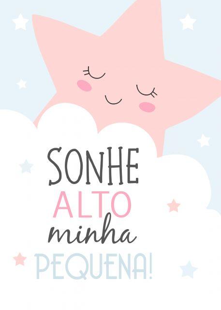 Poster Sonhe Alto Estrela Soupop